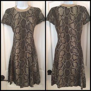 Michael Kors Reptile Skin Dress